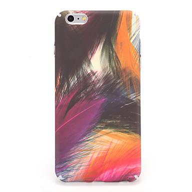 tok Για Apple iPhone 7 Plus iPhone 7 Με σχέδια Πίσω Κάλυμμα Διαβάθμιση χρώματος Φτερά Σκληρή PC για iPhone 7 Plus iPhone 7 iPhone 6s Plus