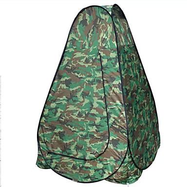AOXIANGZHE 1 Person Zelt Doppel Camping Zelt Einzimmer Falt-Zelt Wasserdicht Tragbar für Wandern Camping 2000-3000 mm Glasfaser Oxford-