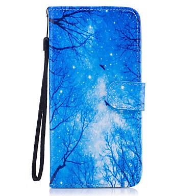 Pouzdro Uyumluluk Samsung Galaxy S8 Plus S8 Cüzdan Kart Tutucu Satandlı Flip Temalı Manyetik Tam Kaplama ağaç Sert PU Deri için S8 S8