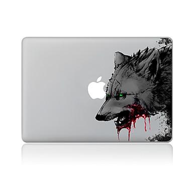 1 kpl Naarmunkestävä Animal Läpinäkyvä muovi Tarrakalvo Kuviointi VartenMacBook Pro 15'' with Retina MacBook Pro 15 '' MacBook Pro 13''