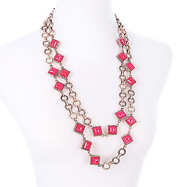 Pentru femei Lănțișoare Cristal La modă Adorabil Personalizat Cute Stil Euramerican Bijuterii Pentru Nuntă Petrecere