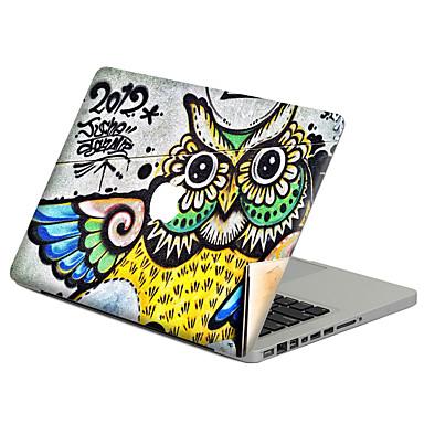 1 piesă Rezistent la Zgârieturi Desen animat Plastic Transparent Autocolant Corp Model PentruMacBook Pro 15'' with Retina MacBook Pro 15