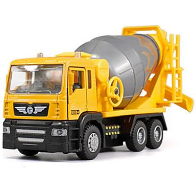 Koparka Betoniarka Pojazdy budowlane i ciężarówki do zabawy Samochodziki do zabawy Model samochodu 1:48 Muzyka i światło Plastikowy ABS