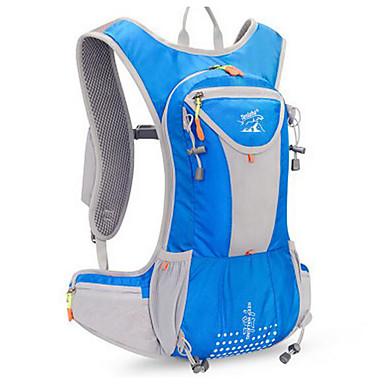 15 L Fietsen Backpack Kamperen&Wandelen Klimmen Recreatiesport waterdicht Stofbestendig Draagbaar Multifunctionele
