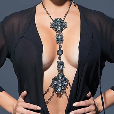 Γυναικεία Κοσμήματα Σώματος Αλυσίδα για την Κοιλιά Body Αλυσίδα / κοιλιά Αλυσίδα Κολιέ κοιλιάςΜοντέρνα Βοημία Style Χιπ-Χοπ Χειροποίητο