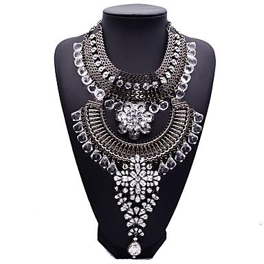 Γυναικεία Κολιέ Δήλωση Κοσμήματα Άλλα Συνθετικοί πολύτιμοι λίθοι Κράμα Μοντέρνα Euramerican Κοσμήματα Για Πάρτι