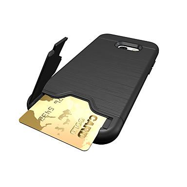tok Για Samsung Galaxy A5(2017) A3(2017) Θήκη καρτών Ανθεκτική σε πτώσεις Πίσω Κάλυμμα Συμπαγές Χρώμα Σκληρή PC για A3 (2017) A5 (2017)