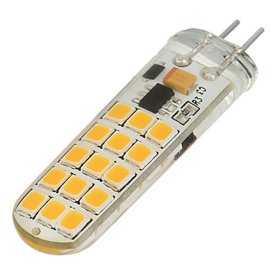 200-300 lm G4 2-pins LED-lampen T 30 leds SMD 2835 Dimbaar Warm wit Koel wit