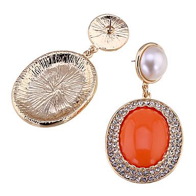 Küpe Set Kristal Moda Çok güzel Kişiselleştirilmiş Euramerican alaşım Turuncu Mücevher Için Düğün Parti Doğumgünü 1 çift