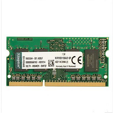 Kingston RAM 2 GB DDR3 1600MHz Notebook / Laptop Memory