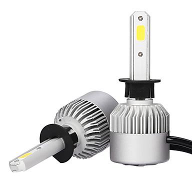 2pcs H1 Automatisch Lampen 36W COB 3600lm Koplamp
