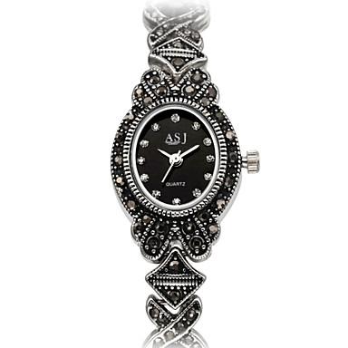 ASJ Damskie Zegarek na bransoletce Modny Japoński Kwarcowy Kwarc japoński Wodoszczelny sztuczna Diament Odporny na wstrząsy Stop Pasmo