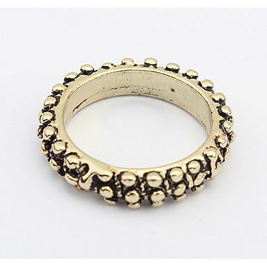Damen Bandringe Ring Schmuck Basis Einzigartiges Design Logo Stil Langlebig USA Modisch Britisch Vintage Klassisch Böhmen-Art Elegant