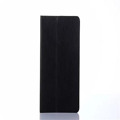 Varten Korttikotelo AutomAutomaattinen auki/kiinni Flip Etui Kokonaan peittävä Etui Yksivärinen Kova Tekonahka varten SamsungTab 4 7.0