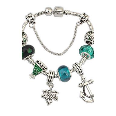 economico Bracciali-Per donna Bracciali a catena e maglie Di tendenza Gemme Gioielli braccialetto Azzurro chiaro Per Feste Occasioni speciali Regalo