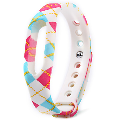 Buntes Muster tpu Uhrenband für xiaomi miband 1 / 1s