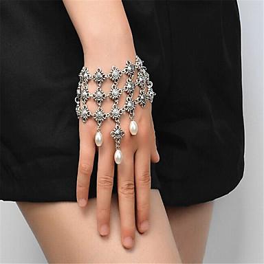 Damen Quaste Strang-Armbänder - Künstliche Perle Modisch Armbänder Gold / Silber Für Besondere Anlässe