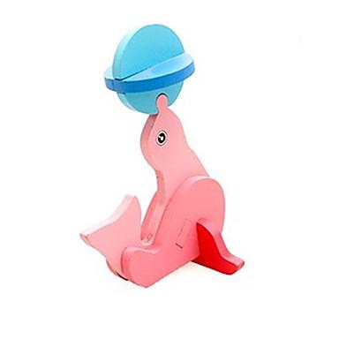 3D - Puzzle Steckpuzzles Holzmodelle Delphin Spaß Holz Klassisch