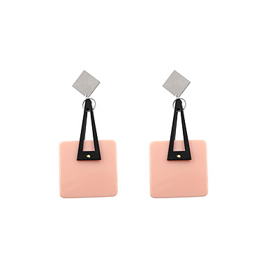 Pentru femei Cercei Picătură Bijuterii Personalizat Γεωμετρικά Euramerican stil minimalist SUA Modă Adorabil Teracotă Aliaj Pătrat