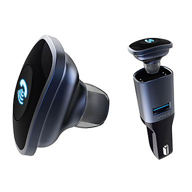 Bluetooth 4.0 headset met autolader