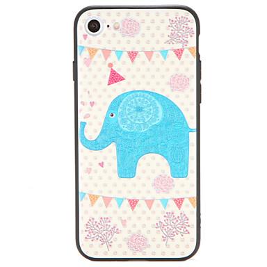 Etui Käyttötarkoitus iPhone 7 Plus iPhone 7 iPhone 6s Plus iPhone 6 Plus iPhone 6s iPhone 6 Apple Kuvio Takakuori Elefantti Kova PC varten