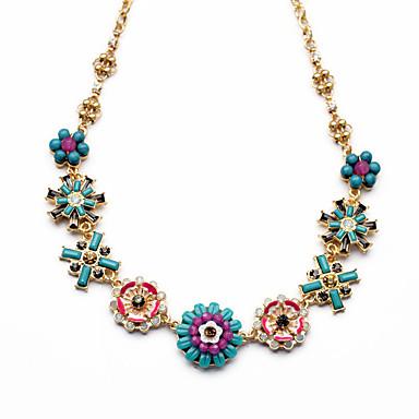 Γυναικεία Σκέλη Κολιέ Flower Shape χαριτωμένο στυλ Chrismas Ουράνιο Τόξο Κοσμήματα Για 1pc