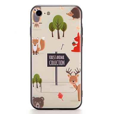 Pouzdro Uyumluluk Apple iPhone 7 Plus iPhone 7 Satandlı Temalı Arka Kapak Karton Sert PC için iPhone 7 Plus iPhone 7 iPhone 6s Plus