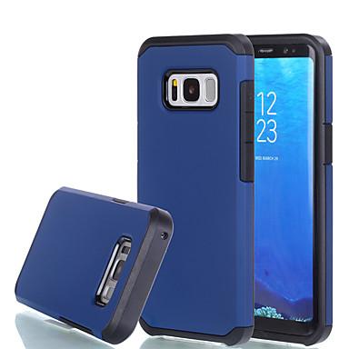Hülle Für Samsung Galaxy S8 Plus S8 Stoßresistent Rückseitenabdeckung Volltonfarbe Hart PC für S8 S8 Plus S7 edge S7 S6 edge S6