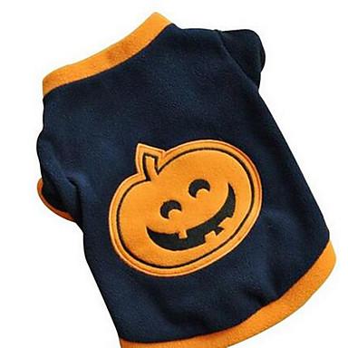 Koira T-paita Koiran vaatteet Sievä Rento/arki Muoti Pumpkin Musta