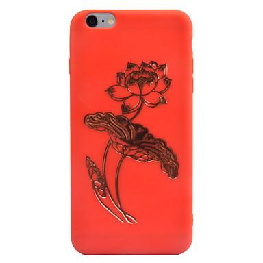 Için Kılıflar Kapaklar Süslü Temalı Arka Kılıf Pouzdro Çiçek Yumuşak TPU için Apple iPhone 7 Plus iPhone 6s Plus iPhone 6 Plus