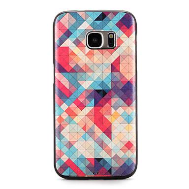 Etui Käyttötarkoitus Samsung Galaxy S7 edge S7 Kuvio Takakuori Geometrinen printti Pehmeä TPU varten S7 edge S7