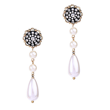 Halka Küpeler Kristal Çok güzel Kişiselleştirilmiş sevimli Stil Euramerican Gümüş Mücevher Için Düğün Parti Doğumgünü 1 çift