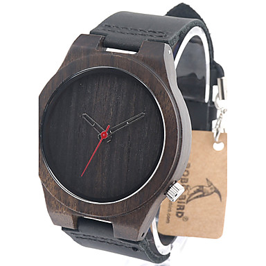 Ανδρικά Μοδάτο Ρολόι Ρολόι Καρπού Μοναδικό Creative ρολόι Καθημερινό Ρολόι Ρολόι Ξύλο Ιαπωνικά Χαλαζίας Γιαπωνέζικο Quartz ξύλινος Γνήσιο