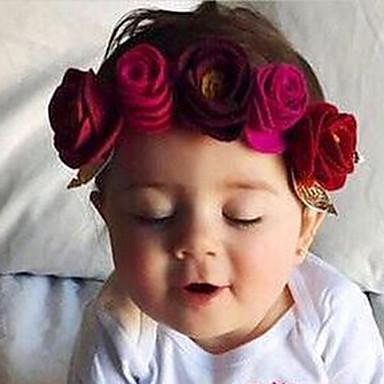 cheap Kids' Headpieces-Toddler Unisex Cotton / Nylon Hair Accessories Pink / Fuchsia / Wine One-Size
