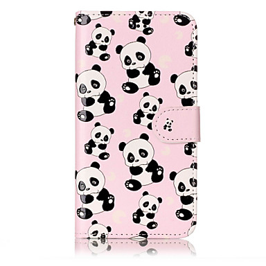 Pentru huawei p10 lite p8 lite (2017) pu panda material panda model de relief telefon caz p10 plus p10 p9 lite p8 lite