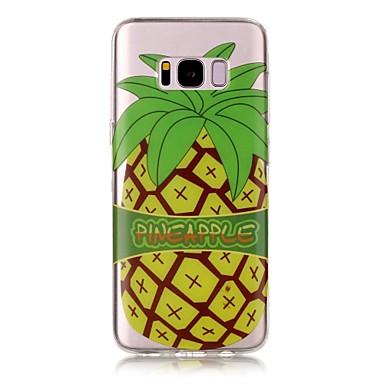 Etui Käyttötarkoitus Samsung Galaxy S8 Plus S8 IMD Läpinäkyvä Kuvio Takakuori Hedelmä Pehmeä TPU varten S8 S8 Plus S7 edge S7 S6 edge S6