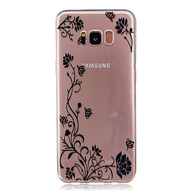 غطاء من أجل Samsung Galaxy S8 Plus S8 شفاف نموذج غطاء خلفي فراشة زهور ناعم TPU إلى S8 Plus S8 S7 edge S7 S6 edge S6 S5