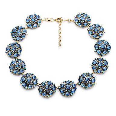 Pentru femei Toroane Coliere Flower Shape Design Unic Albastru Deschis Bijuterii Pentru Zilnic 1 buc