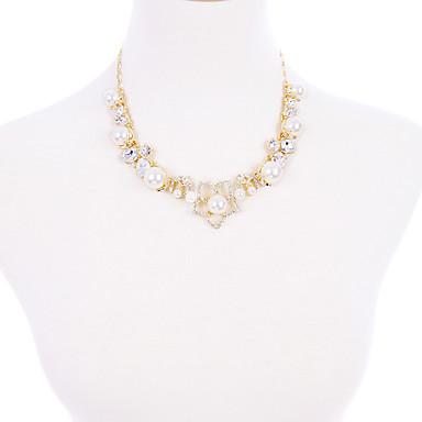 Pentru femei Lănțișoare Cristal La modă Personalizat Euramerican stil minimalist Auriu Bijuterii Pentru Nuntă Petrecere 1 buc