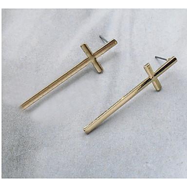 Damen Ohrstecker Tropfen-Ohrringe Kreolen Schmuck Personalisiert Religiöser Schmuck Einzigartiges Design Logo Stil Klassisch Retro