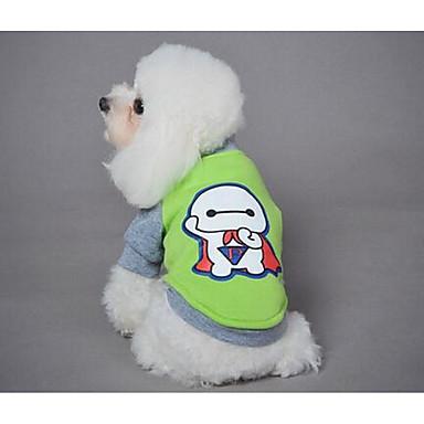 كلب المعاطف T-skjorte ملابس الكلاب جميل موضة الرياضات البولكا النقاط أصفر أحمر أخضر زهري كوستيوم للحيوانات الأليفة