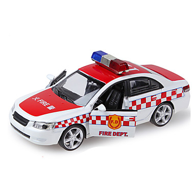 ألعاب سيارة الشرطة ألعاب سيارة معدن قطع للجنسين هدية