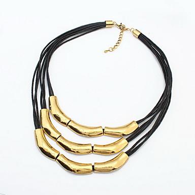 للمرأة القلائد الطبقات مجوهرات مجوهرات سبيكة موضة شخصية euramerican في مجوهرات من أجل حزب مناسبة خاصة هدية