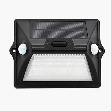 1pcs zonne-motion sensor licht buiten ip65 waterdicht geleid sensing veiligheid nachtlicht met auto witte en kleurrijke modus voor werf