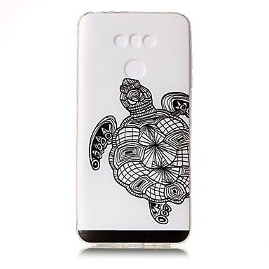 Na Etui Pokrowce Przezroczyste Wytłaczany wzór Wzór Etui na tył Kılıf Wzór zwierzęcy Miękkie TPU na LG LG G6