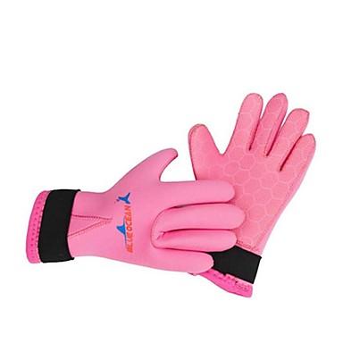 الغوص قفازات اصبع كامل للجنسين الدفء غوص ليكرا