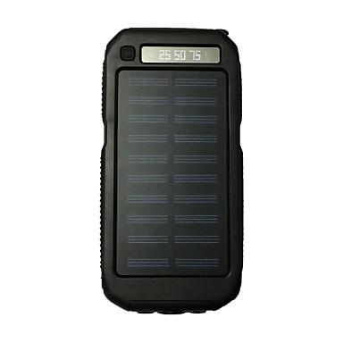 teho pankki ulkoinen akku 5V #A Akkulaturi Takulamppu Multi-Output Aurinkopaneelilataus LED