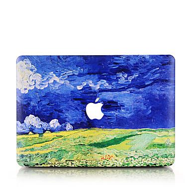 MacBook Hoes voor Macbook Olieverfschilderij polycarbonaat Materiaal