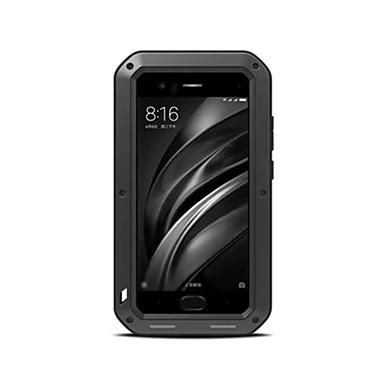 hoesje Voor Xiaomi Schokbestendig Water / Dirt / Shock Proof Volledig hoesje Hard Metaal voor Xiaomi Mi 6