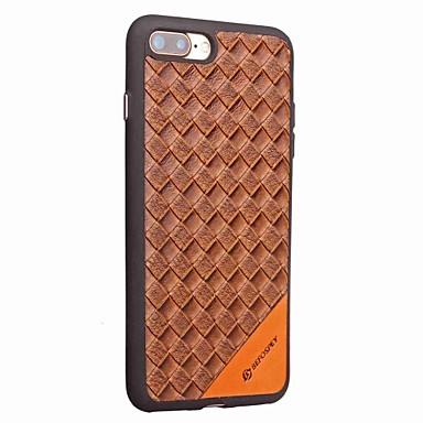 Für iphone 7 7 plus Fallabdeckung Kartenhalter rückseitige Abdeckungsfall shockproof Normallack hartes PU-Leder für iphone 6s plus 6 5 5s